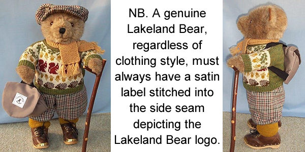How to identify a Lakeland Bear